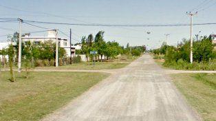 La zona donde ocurrió el violento asalto.