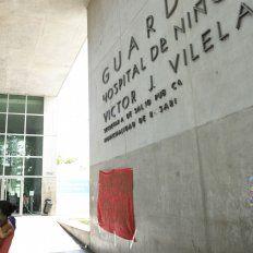 El niño fue derivado al Hospital de Niño Víctor J. Vilela.