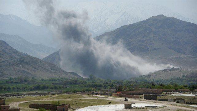 Al menos 36 muertos en Afganistán tras el lanzamiento de la madre de todas las bombas