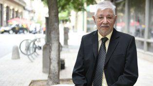 Ricardo Martínez, 84 años, promotor de la Escuela Naval en Rosario.