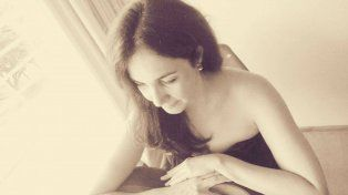 Verónica Muñoz. La cantante elogió el interés de los jóvenes por la cultura tanguera.
