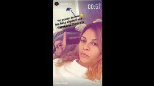 El claro mensaje a la distancia de Yanina Screpante al Pocho Lavezzi