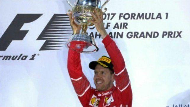 Vettel ganó el gran Premio de Bahréin y es el único líder del campeonato de Fórmula 1