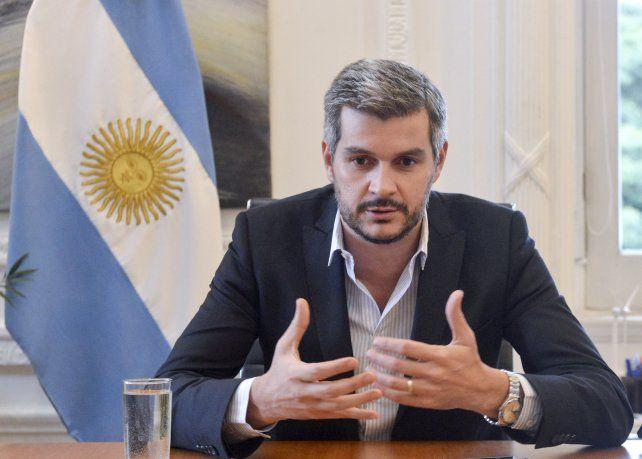 Marcos Peña desmintió que haya un plan secreto para destruir las expresiones culturales.