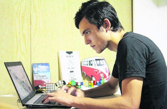 Creativo. Ramiro Miglio en el mundo virtual es Kalipso Games.