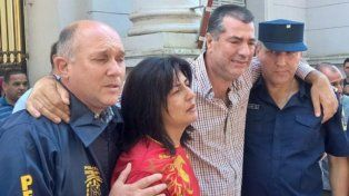 Los padres de Micaela García, la joven entrerriana de 21 años, víctima de femicidio.