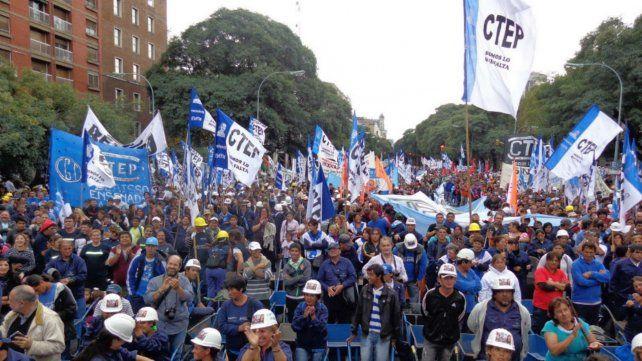 Los trabajadores de la economía popular.