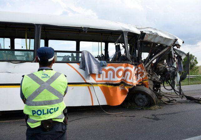 La tragedia de Monticas ocurrió en la ruta 33.