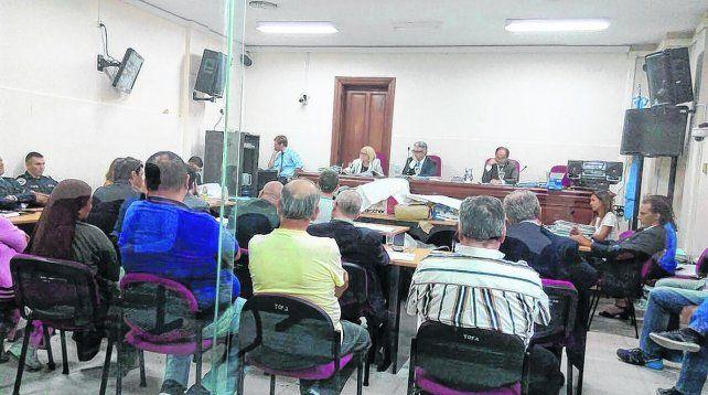 banquillo. El juicio oral comenzó en los Tribunales Federales de Rosario el pasado 30 de noviembre. Mañana se conocerá el veredicto.