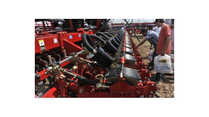 Oasis. La industria de la maquinaria agrícola experimentó un crecimiento.