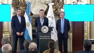 Macri anunció la modernización del Estado y criticó la política nociva que lo transformó en aguantadero