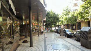 Las personas fueron detenidas en el shopping del Siglo. (Foto de archivo)