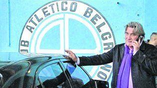 Armando Pérez. El ex presidente de Belgrano y ex dirigente de AFA está a la espera de la sanción que le caería al club cordobés.