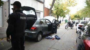 Pasaje Tiscornia al 2800. El procedimiento terminó con los dos delincuentes detenidos.