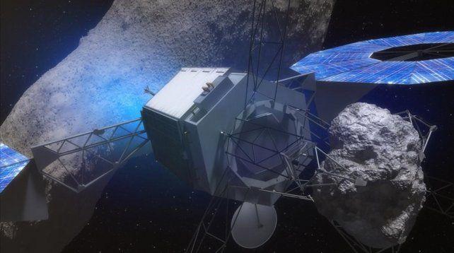 Un enorme asteroide pasará hoy muy cerca de la Tierra y a menor distancia que la Luna