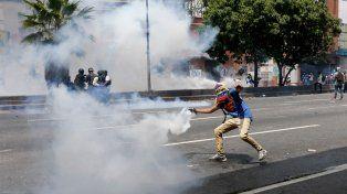 Manifestantes se enfrentaron con las fuerzas de seguridad.