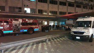 Un cortocircuito en laTerminal B de Ezeiza provocó un principio de incendio.