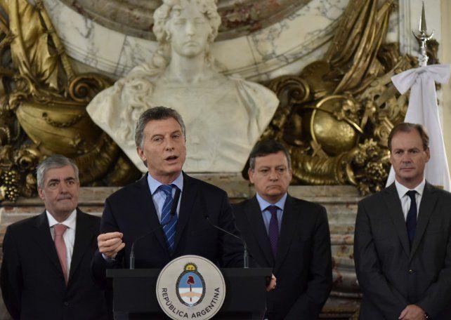 Macri anunció en Casa de Gobierno el Plan Federal de Energía