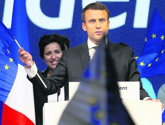 En punta. El ex ministro de Economía de Hollande