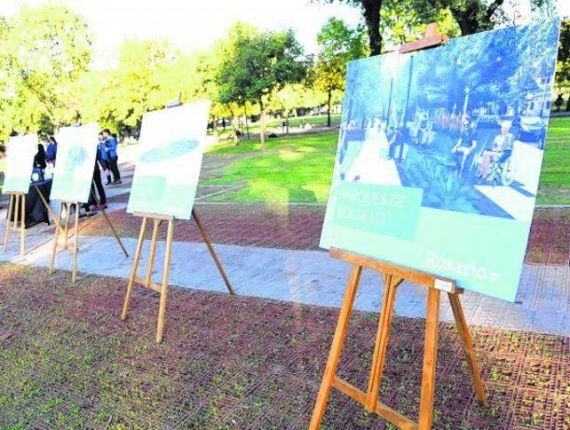 El plan fue dado a conocer en el parque Yrigoyen.