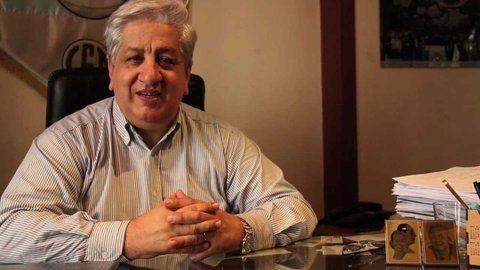 Aval. Piumato dijo que Santa Fe precariza a los trabajadores judiciales.