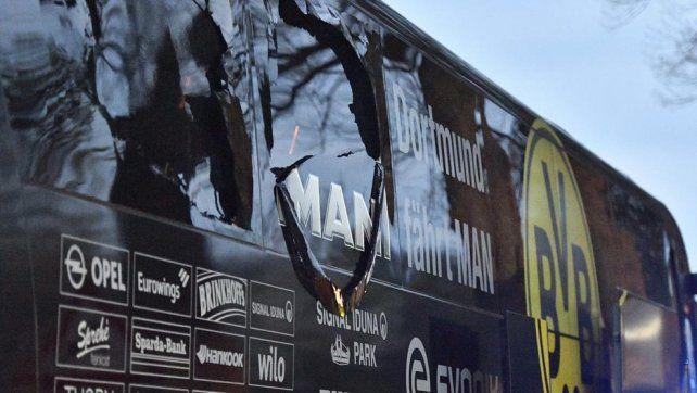 Fue detenido el sospechoso del atentado al colectivo del equipo de fútbol alemán.