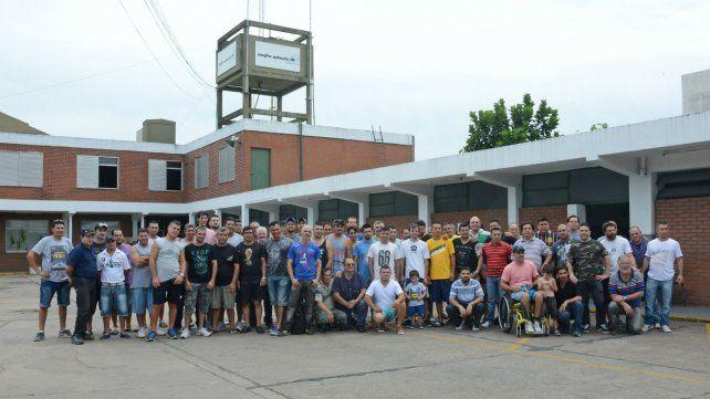 Los empleados de la metalúrgica ocuparon la planta durante varios meses.