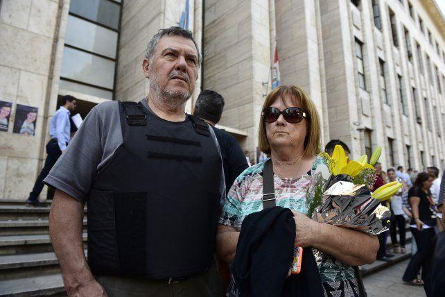 Alberto y Alicia Perassi siguen reclamando justicia por su hija.