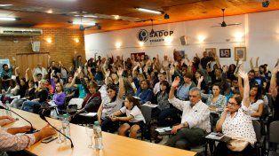 Los docentes privados también aceptaron la propuesta salarial del gobierno provincial