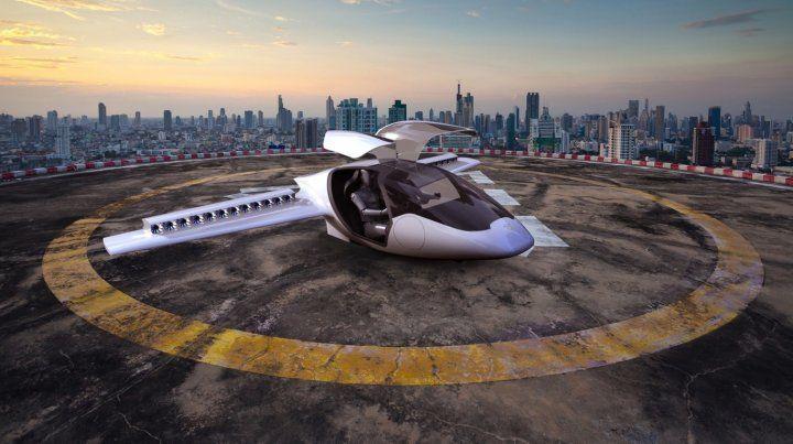 Las imágenes del nuevo auto volador que fue fabricado en Alemania y ya tuvo una exitosa prueba.