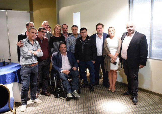 El ministro Triaca estuvo de visita en Rosario y destacó la recuperación de Mefro Wheels.