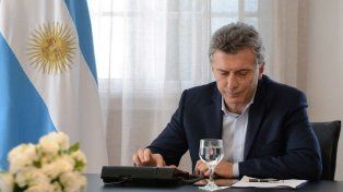El presidente se comunicó telefónicamente con la familia de Emanuel Balbo.