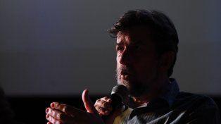 Director italiano. Nanni Moretti, realizador de Aprile y Caro diario.