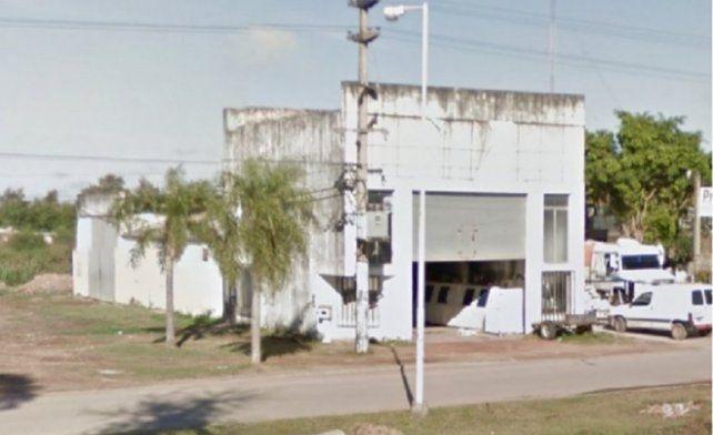 La fábrica de hielo emplazada en Presidente Sáenz Peña. En su interior yacía Carlos Bueno