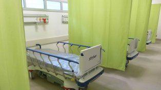 Flamantes. El sanatorio incorpora 130 camas de internación, modernos quirófanos y hasta un helipuerto.