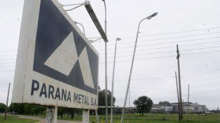Parada. Paraná Metal cerró definitivamente a fines de 2015. El predio tiene 57 hectáreas de terreno, dos de las cuales las ocupan las instalaciones fabriles.