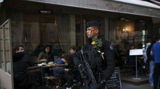 En alerta. Francia montó un impresionante dispositivo de seguridad.