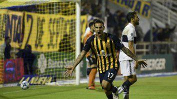Herrera anotó el tanto que le dio el triunfo al canalla.