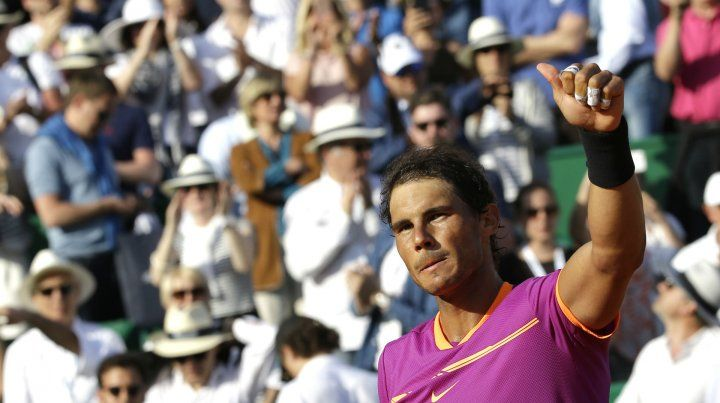 Rafa Nadal agiganta su leyenda en polvo de ladrillo y se coronó campeón de Monecarlo por décima vez