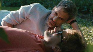 Guillermo Pfening y Rafael Ferro en una escena del filme que tuvo su estreno mundial el sábado.