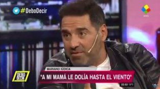 Mariano Iúdica reveló la conmovedora promesa que le hizo a su madre antes de morir