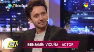 Benjamín Vicuña calificó como un retroceso que en Argentina se priven de opinar
