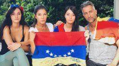 catherine fulop apoya las protestas  y se suma hoy al planton de venezuela