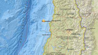 El temblor se sintió en Argentina.