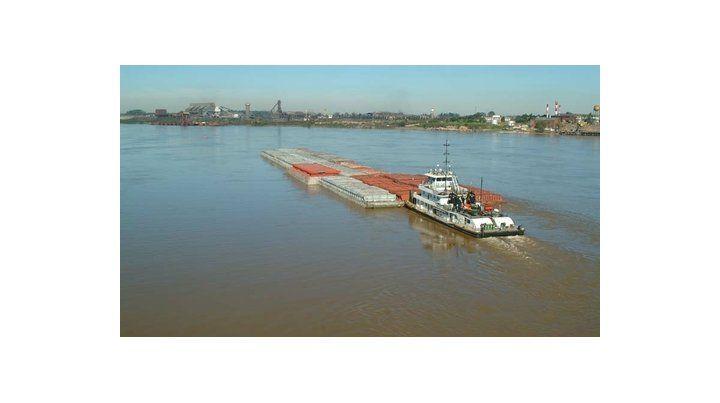 Autopista. La hidrovía Paraná-Paraguay conecta el interior del Mercosur.