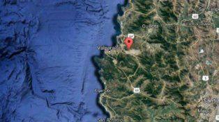 Un sismo de 6,9 grados sacudió Valparaíso y se sintió hasta Córdoba