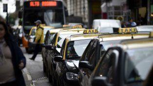 Los taxistas expresaron sus reparos con la nueva aplicación.