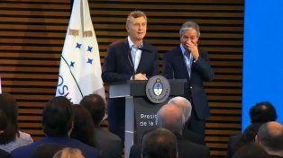 Macri contó la anécdota en un acto en el CCK.