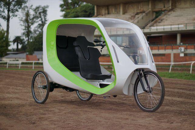 Milla es el nombre que la empresa rosarina GreenGo bautizó a su triciclo ecológico.