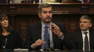 El jefe de Gabinete, Marcos Peña, criticó a la administración socialista en la provincia de Santa Fe.